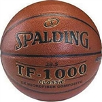 "Spalding TF-1000 Classic NFHS 28.5"" Basketball"