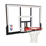 "spalding 52"" acrylic backboard and rim combo"