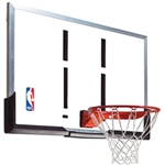 "spalding 54"" acrylic backboard and rim combo"
