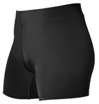 alleson womens low rise volleyball shorts 825v4p