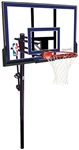 "spalding 50"" acrylic in-ground basketball hoop"