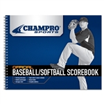 champro baseball softball scorebook (26 game)