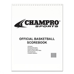 champro baseball softball official scorebook (30 game)