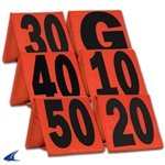 champro heavy weighted football yard markers a102wxl