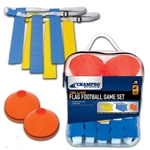 champro football flag and cone set - a107set