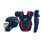 Easton Elite X Boxed Catcher's Set - Youth - Ages 9-12
