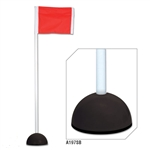 champro soccer corner flag with sandbag a193sb