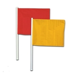 champro sports linesman hand held soccer flags a194