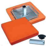 champro baseball orange safety base - sold individually