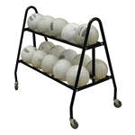Jaypro Deluxe 15 Ball Volleyball Carrier Cart