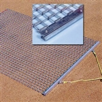 Baseball 10 ft. Wide All-Steel Drag Mat
