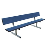 Sports 15'  Heavy Duty Permanent Aluminum Bench