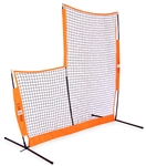 diamond bownet portable baseball replacement net l-screen
