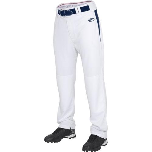 Rawlings Men S V Notch Pro Semi Relaxed Baseball Pants Bpvp2 Proplayersupply Com