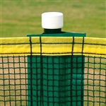 Baseball 300' Homerun Fence Set Green - Complete Set