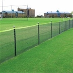 Enduro Field Fencing Package w Mesh Fencing Material (150 ft.-Dark Green)