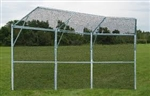 Jaypro Permanent Baseball/Softball Backstop - 3 Panel