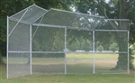 Jaypro Permanent Baseball/Softball Backstop - 4 Panel