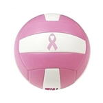 baden match point breast cancer awarness pink volleyball