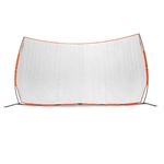 "bownet sports barrier net 21' 6""w x 11' 6""h - bowbarrier"