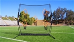 bownet qb5 portable quarterback training net - bowqb5