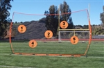 bownet quarterback target combo for barrier net - targets only