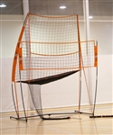 bow net volleyball portable practice station bowvps