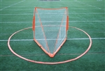 bownet womens lacrosse crease - portable