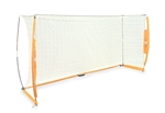 bownet 5x10 portable soccer goal net - indoor or outdoor
