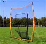 bownet 7x7 big mouth baseball softball soft toss hitting net