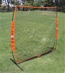 bownet softtoss 7x7 portable baseball hitting net