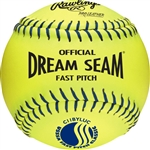 "Rawlings USSSA Official 11"" Softballs High Density Cork Center - Per Dozen"