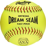 "Rawlings ASA NFHS Official 11"" Softballs - Per Dozen"