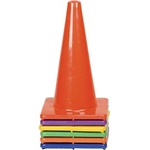 "Champion Sports 12"" Vinyl Cone Sets - Six Colors"