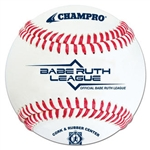 champro cbb-200br babe ruth official game baseball - dozen