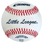 champro cbb-300ll official little league game baseball - dozen