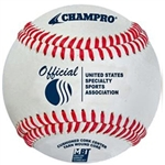 champro cbb-300us official usssa approved game baseball - dozen