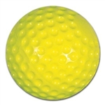 champro optic yellow dimple machine baseball - dozen