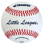 champro cll-40 little league game rs leather baseballs - dozen