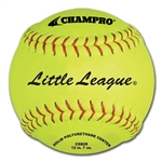 "champro 12"" little league fast pitch softballs - durahide - .47 cor - dozen"