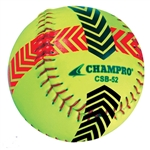 champro striped pitchers training balls - set of 2