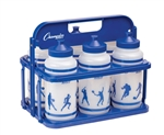 Champion Sports Collapsible Water Bottle Carrier Set