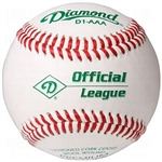 diamond d1-aaa semi pro official league game baseballs - dozen