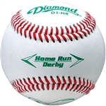 diamond d1 home run derby baseball - dozen