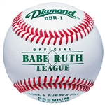 diamond dbr 1 leather babe ruth baseballs - dozen