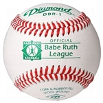 diamond babe ruth official game baseballs dbr - dozen