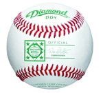 diamond ddy dixie youth official game baseballs - dozen