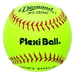 "diamond dfx-12rfpsc synthetic leather 12"" practice softballs"