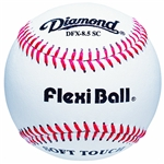 "diamond sports reduced size 8.5"" flexi ball training baseball - dozen"