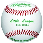 diamond tee ball game baseballs dfx-lc1 ll - dozen